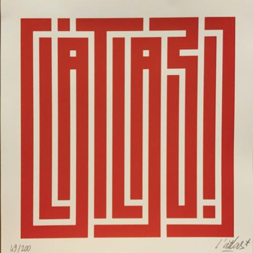 L'Atlas - Main Logo Rouge