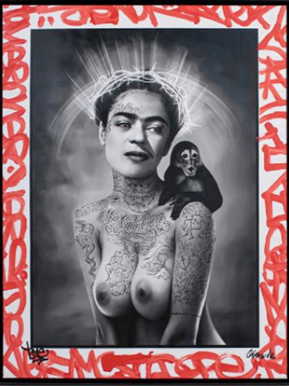 Overside x Yome - Frida Tattoo