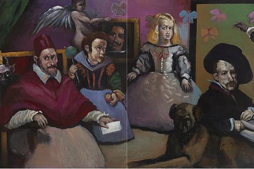 Mikael Kerboas - Peinture de la Peinture / Rencontres