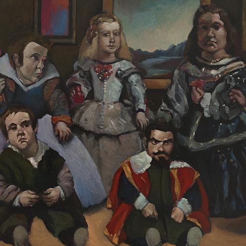 Mikael Kerboas - Peinture de la Peinture / Los Enanos