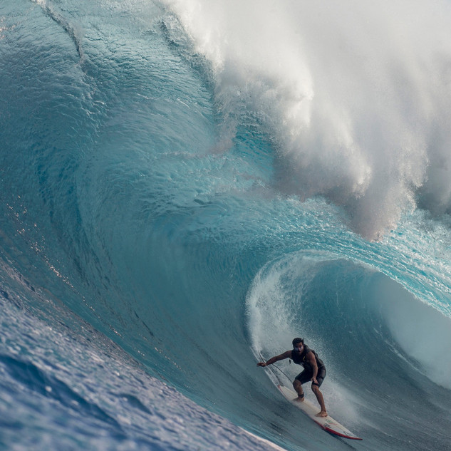 Benjamin Sanchis - Tube Géant - Peahi - Hawai