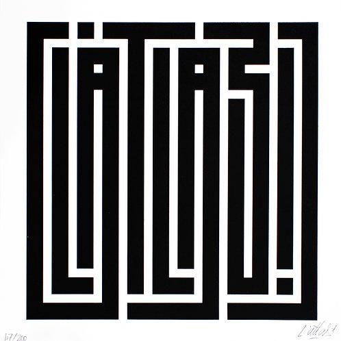 L'Atlas - Main Logo Noir