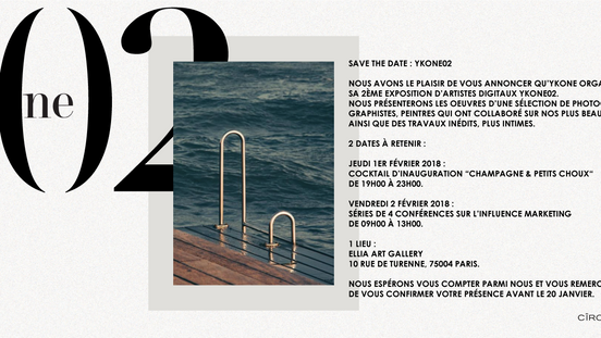 Agence Ykone @ Galerie Turenne 75004 - Paris