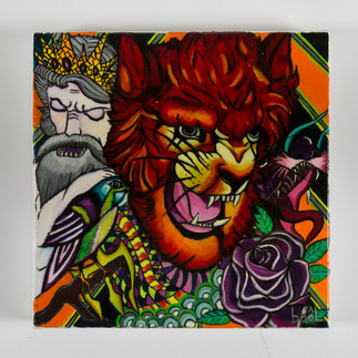 LION ROUGE - Tattoo Série