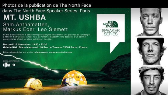 The Northface                                                  @ Galerie Turenne 75004 - Paris
