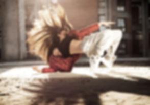 Female Breakdancer