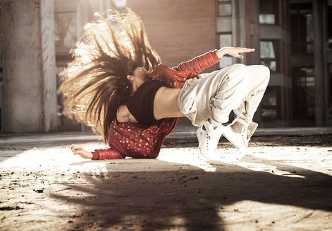 Female Breakdancer