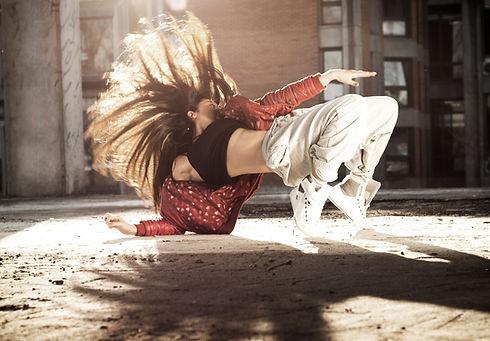 Breakdancer feminino