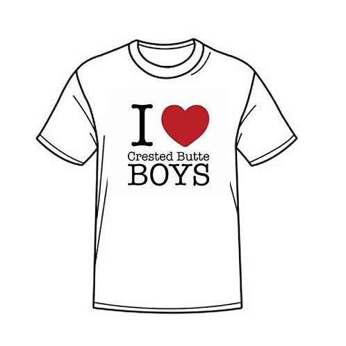 I LOVE CRESTED BUTTE BOYS