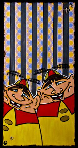 Tweedle Dee & Tweedle Dumb