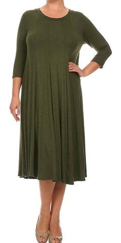 The Haley - Fall Swing Dress