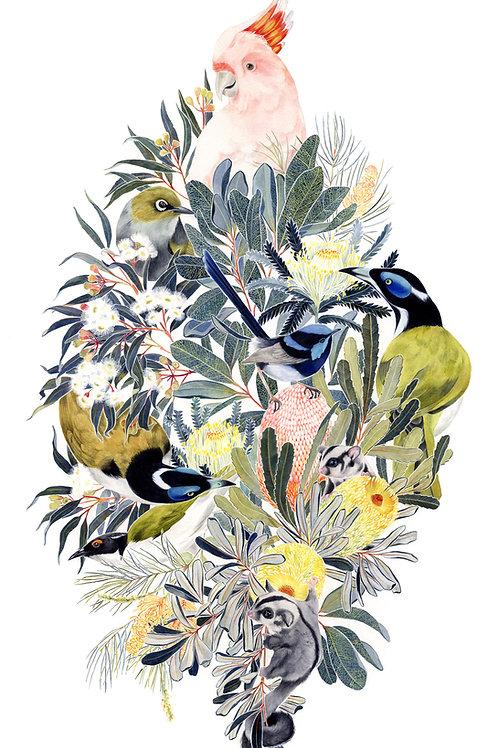 'Birds II' Giclée Print