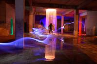fire portal steel wool light painting re