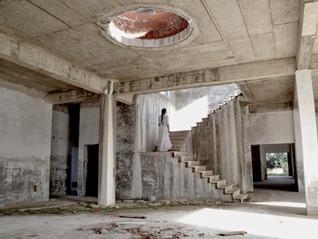 'Selfies' in derelict spaces