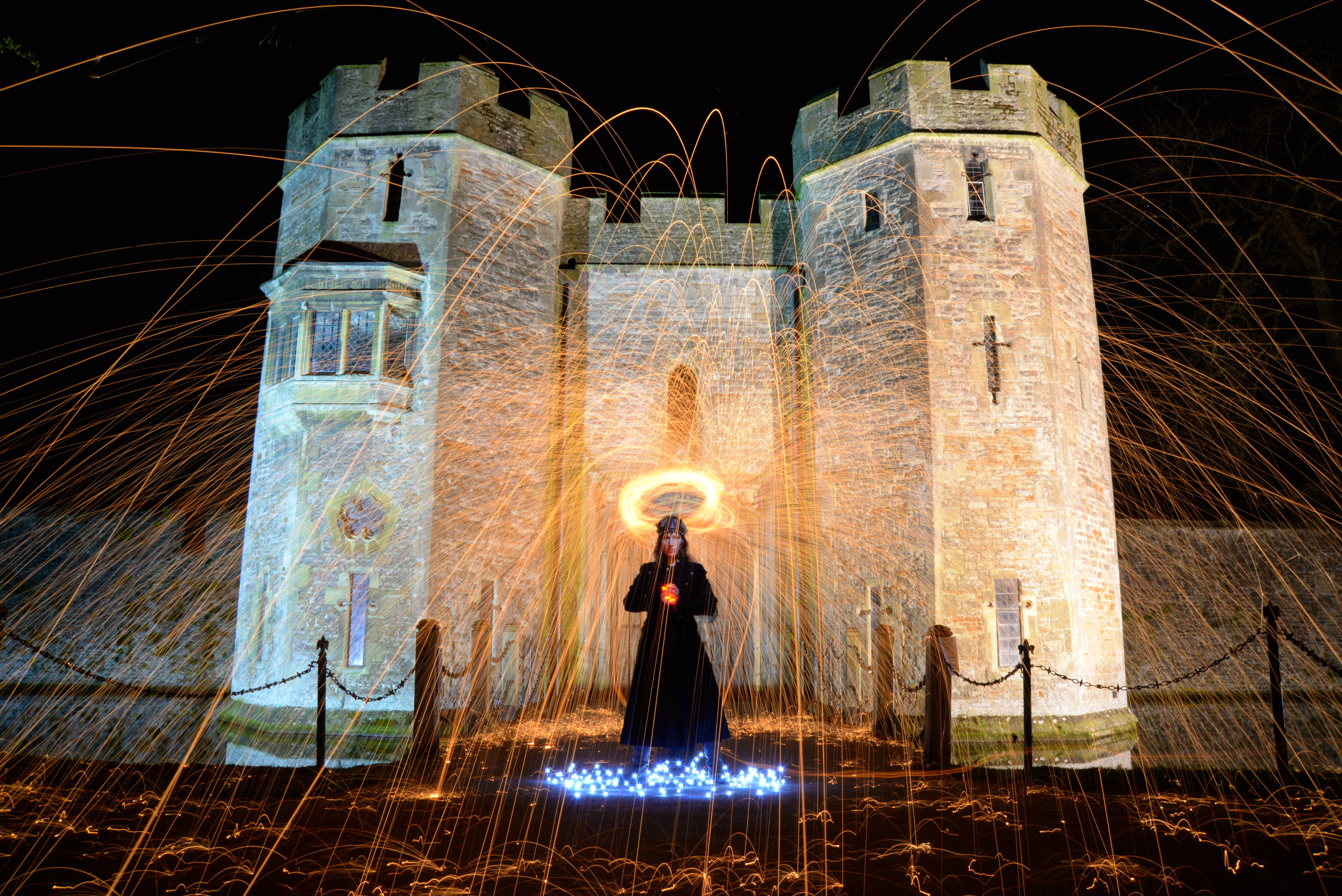 bishops palace light painting wells steel wool light painting.jpeg