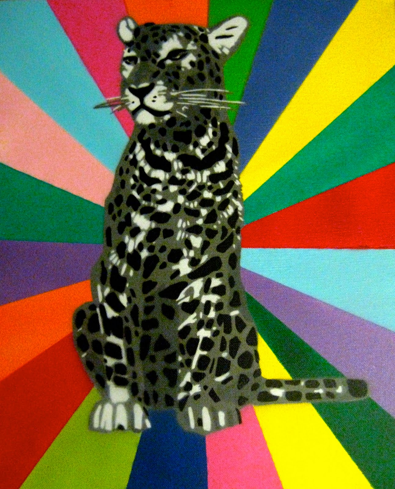 'Snow Leopard' Spray Paint on Canvas.jpg
