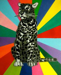 'Snow Leopard' Spray Paint on Canvas.jpg