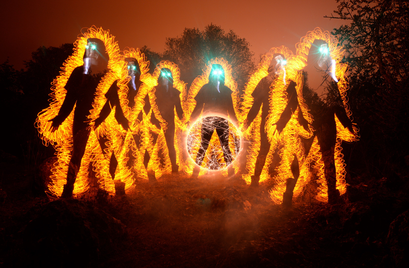 Portal light painting photography the kr
