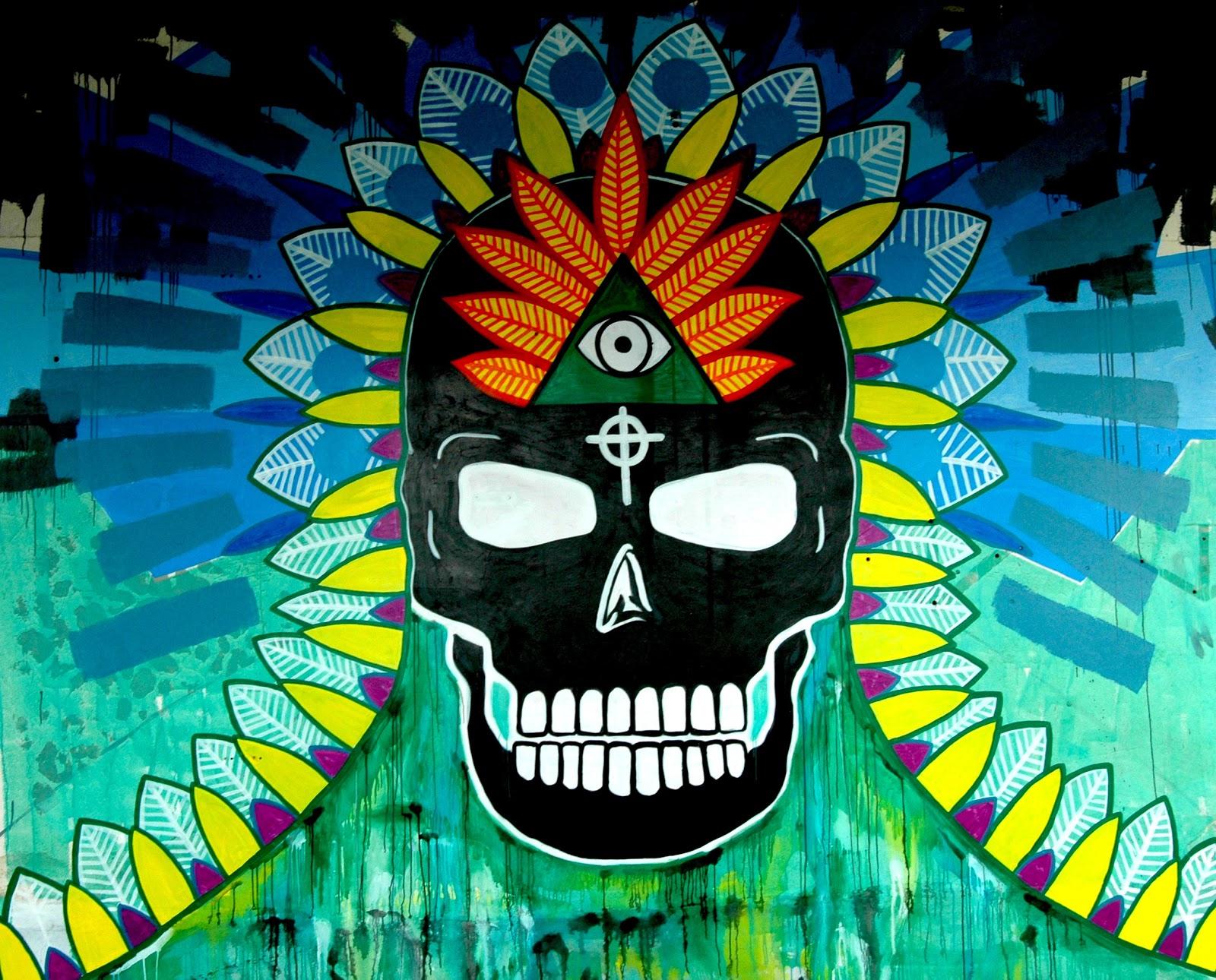 Navajo Skull Mural. Dargaville, New Zealand.jpg