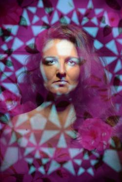 oksana stencil portrait