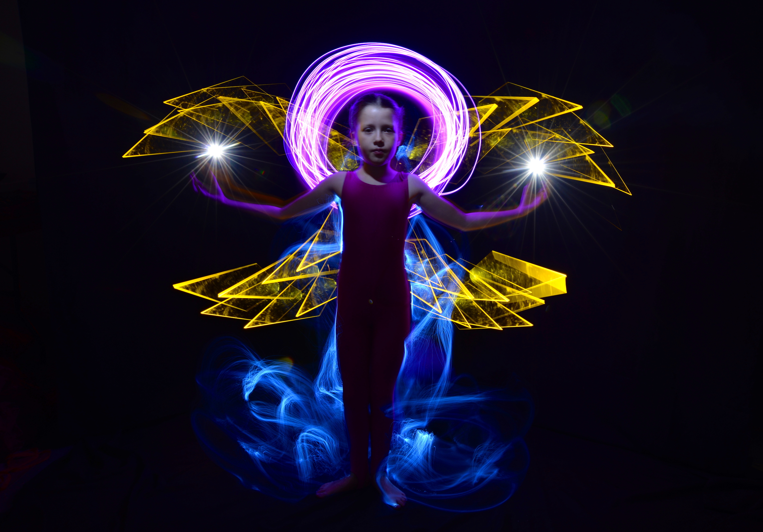 mariella light painting