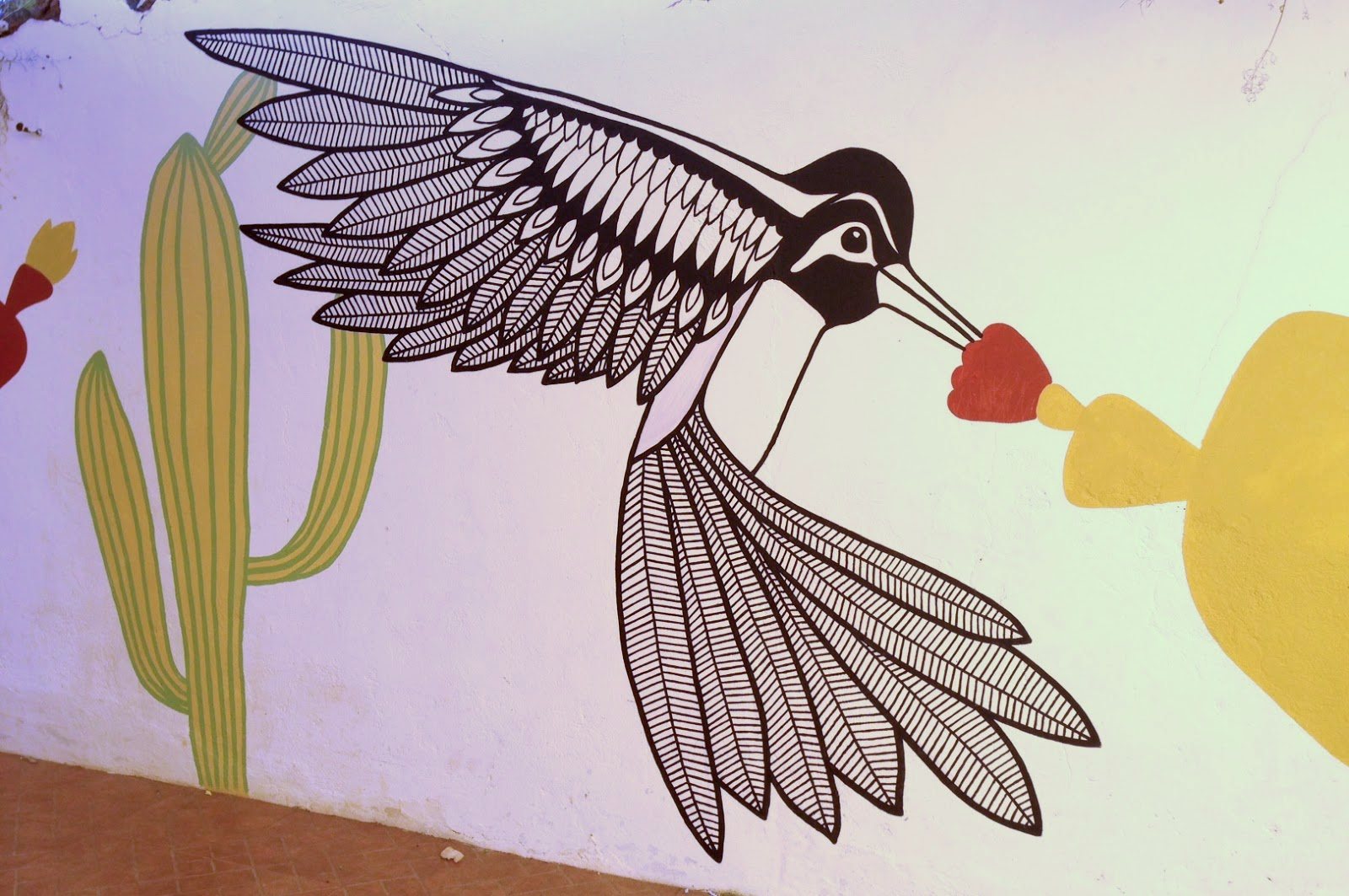 Hummingbird Mural, Portugal