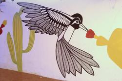 Hummingbird Mural, Portugal
