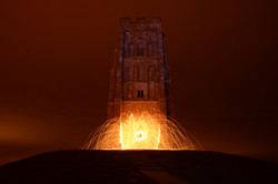 Glastonbury Tor Steel Wool long exposure night .jpeg