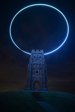 Glastonbury Tor Halo