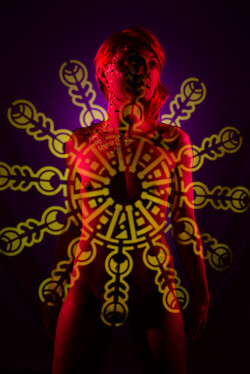 Tonia stencil light painting 03e
