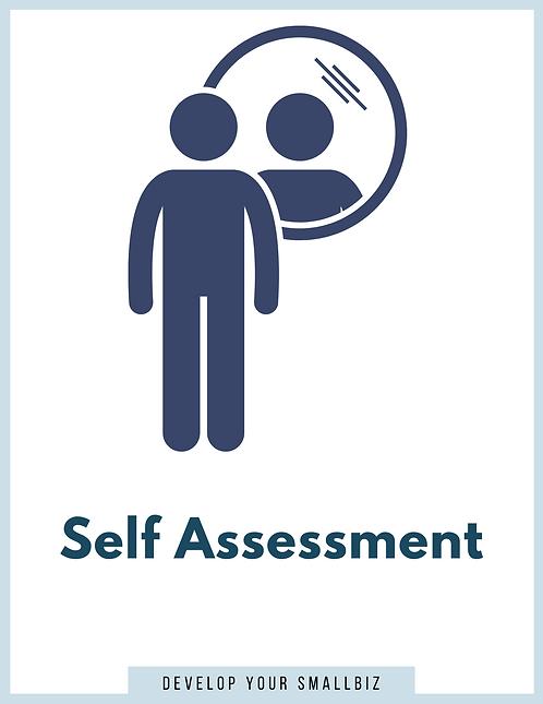 Self Assessment Analysis    (Worksheet)
