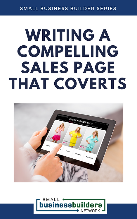 Writing a Compelling Sales Page That Works (EBook)