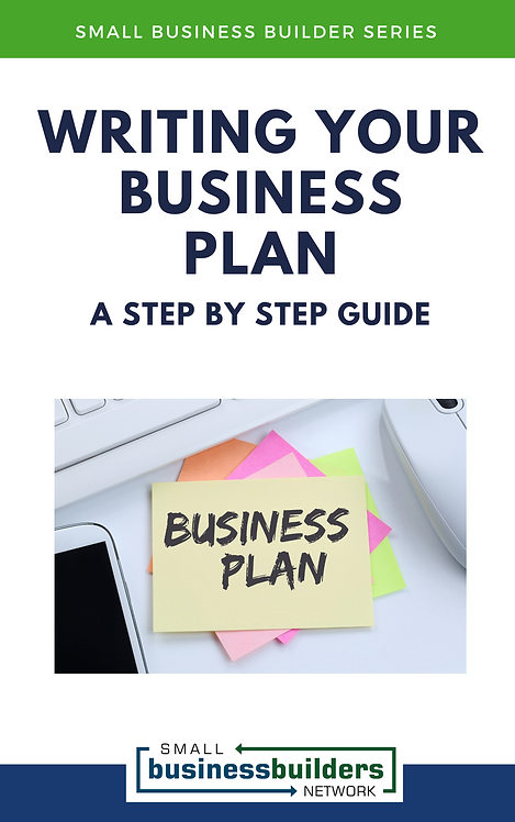 Writing Your Business Plan: A Step by Step Guide (EBook)