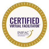 INIFAC Certified Virtual Facilitator tm.