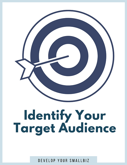 Identify Your Target Market (Worksheet)