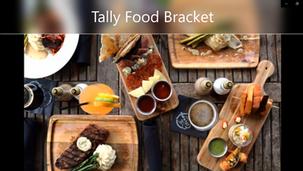 Tally Food Bracket