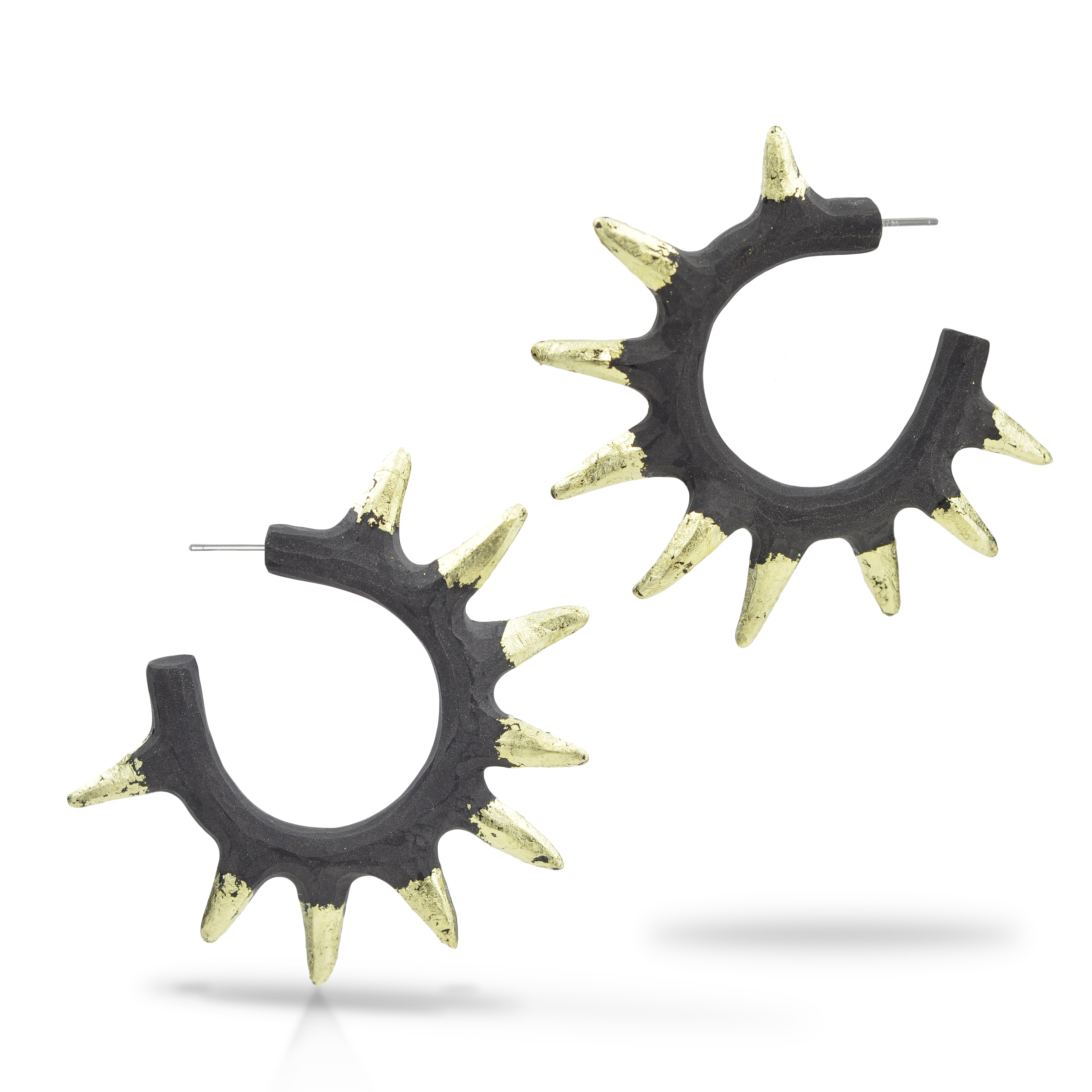 Spikey Hoop earrings