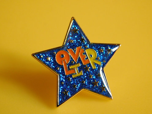 Star pin badge