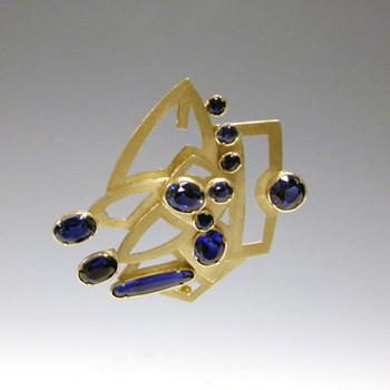 Blue , brooch, 2007.jpg