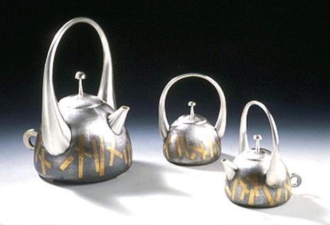 """Korean Dance"". Coffee Set. 2000-02."