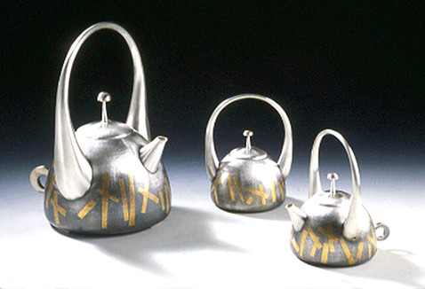 """Korean Dance"". Coffee Set. 2000-02."