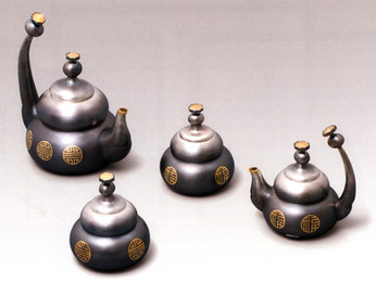 """Long Lasting Relationship II"". Tea-Coffee Set."