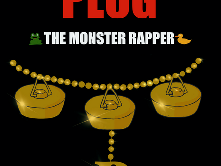 'PLUG THE MONSTER RAPPER' IS HERE! NOW AVAILABLE ON AMAZON!