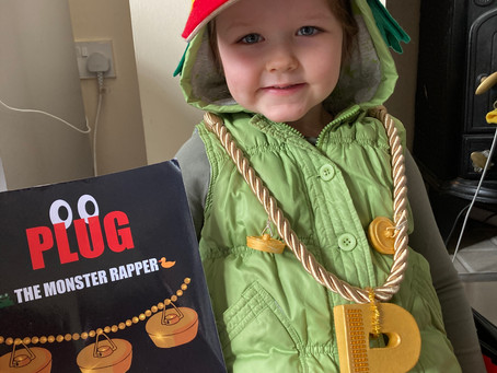 World Book Day 2021- 'Plug The Monster Daisy!' ( joined by Little Frog)