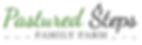 Pastured Steps Family Farm Logo