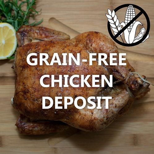 GRAIN-FREE Chicken - Deposit (2021)