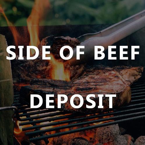 Side of Beef - Deposit (2020)