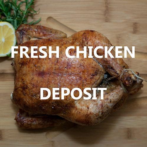 Whole Chicken - Deposit (10/28)