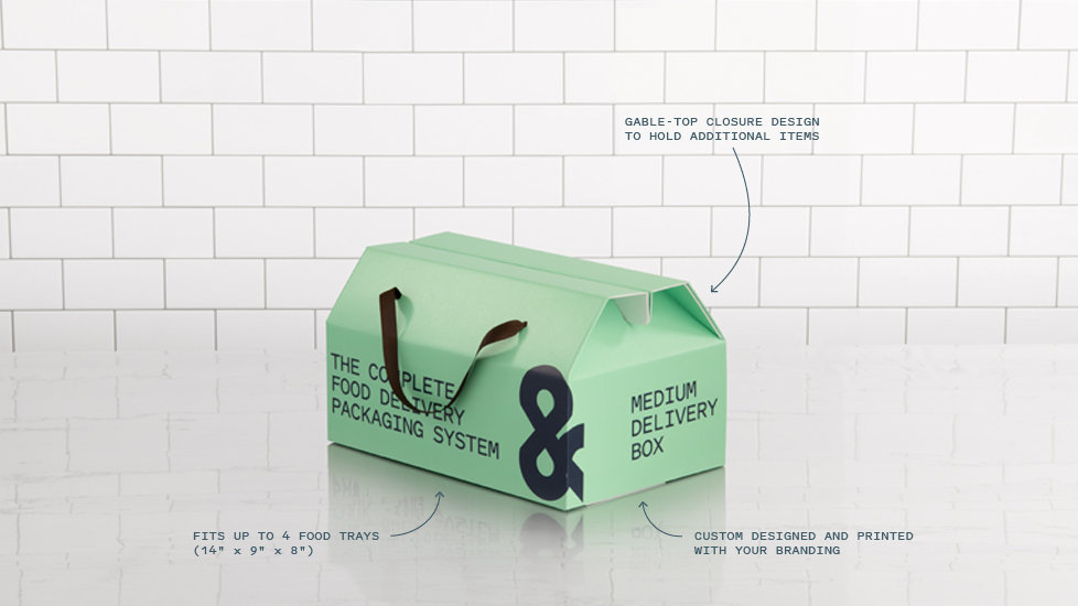 FOUR-COURSE DELIVERY BOX