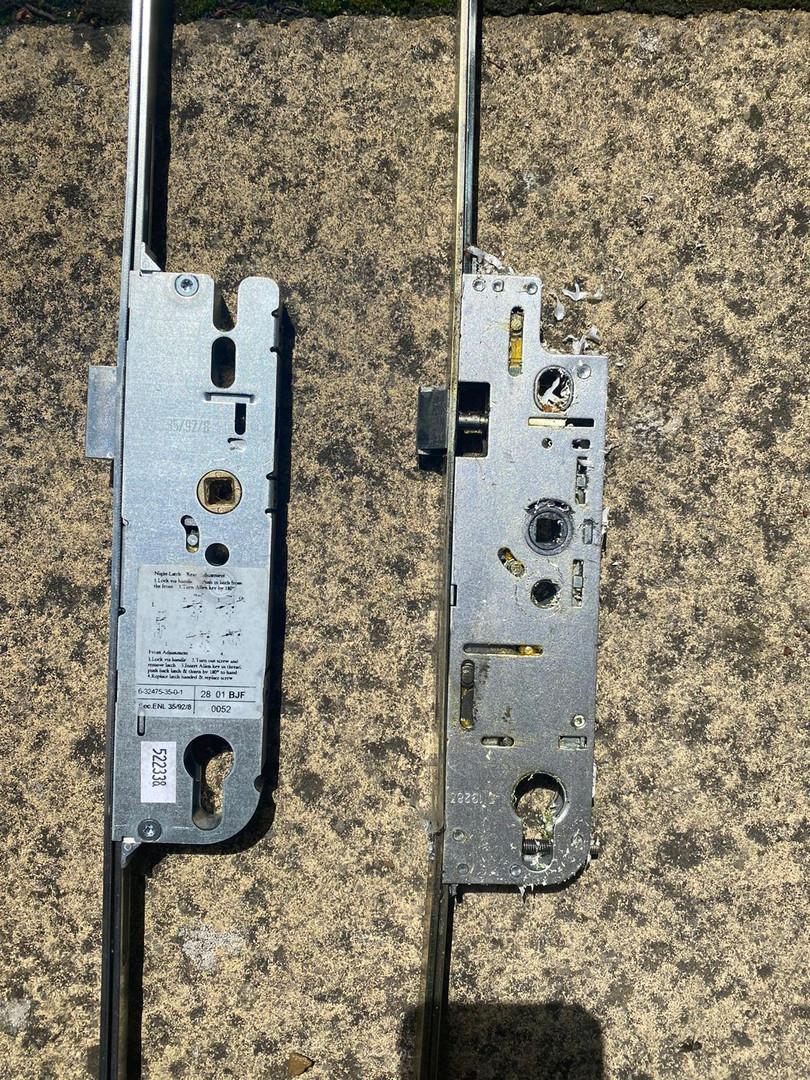 UPVC door strip and mech.